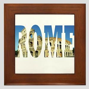 Rome Framed Tile