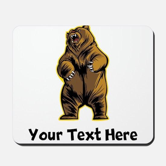 Grizzly Bear (Custom) Mousepad