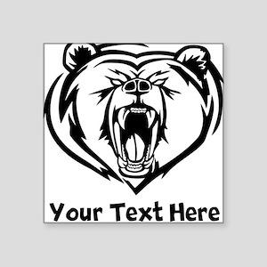 Grizzly Bear (Custom) Sticker