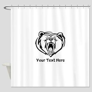 Grizzly Bear (Custom) Shower Curtain