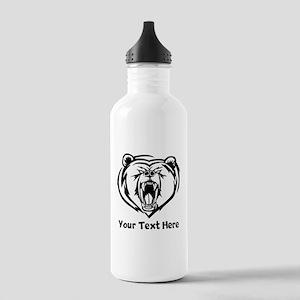 Grizzly Bear (Custom) Water Bottle