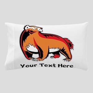 Badger (Custom) Pillow Case
