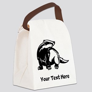 Badger (Custom) Canvas Lunch Bag