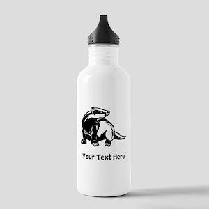Badger (Custom) Water Bottle