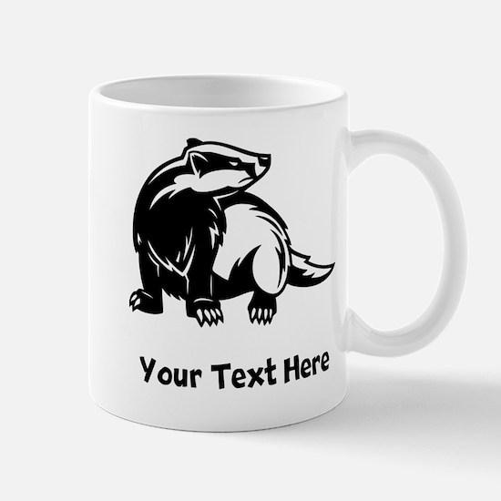 Badger (Custom) Mugs