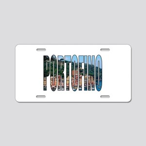 Portofino Aluminum License Plate