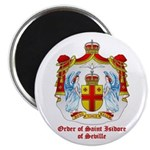 "Order of St. Isidore of Sevil 2.25"" Magnet (10 pac"