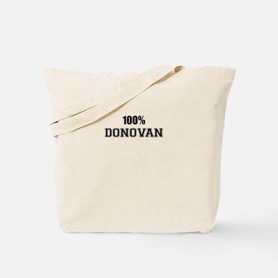 100% DONOVAN Tote Bag