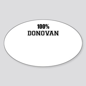 100% DONOVAN Sticker
