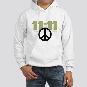 11:11 Time For Peace Hoodie Hooded Sweatshirt