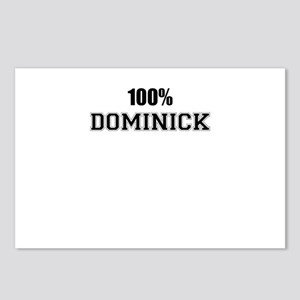100% DOMINICK Postcards (Package of 8)