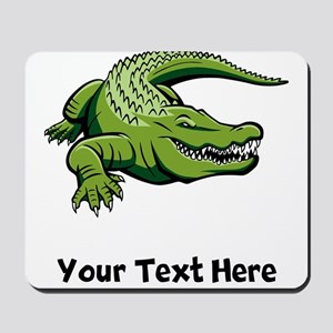 Green Alligator (Custom) Mousepad
