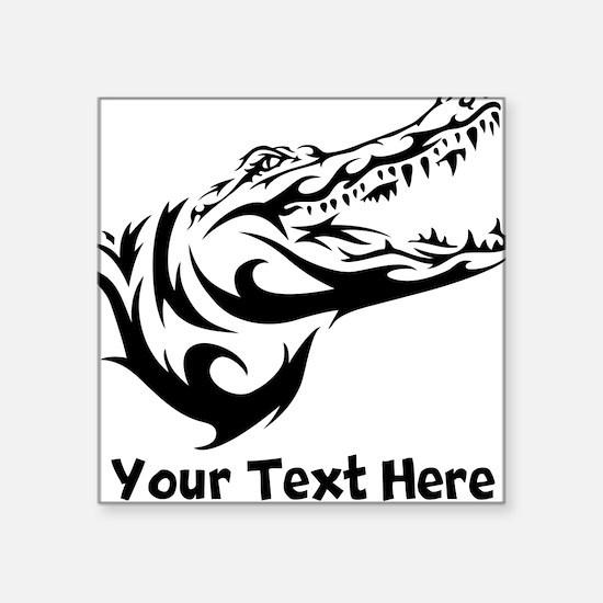 Alligator Head (Custom) Sticker