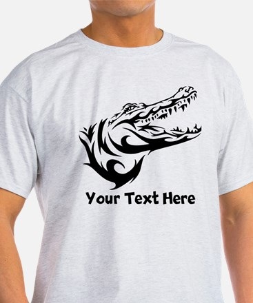 Alligator Head (Custom) T-Shirt