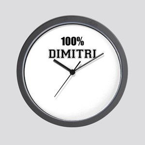 100% DIMITRI Wall Clock
