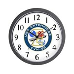 USS Enterprise (CVN 65) Wall Clock