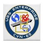 USS Enterprise (CVN 65) Tile Coaster