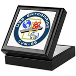 USS Enterprise (CVN 65) Keepsake Box