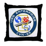 USS Enterprise (CVN 65) Throw Pillow