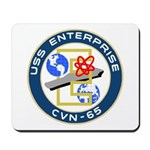 USS Enterprise (CVN 65) Mousepad