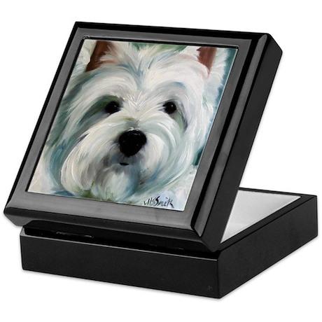 WESTIE DOG Keepsake Box