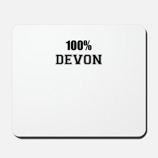 100% DEVON Mousepad