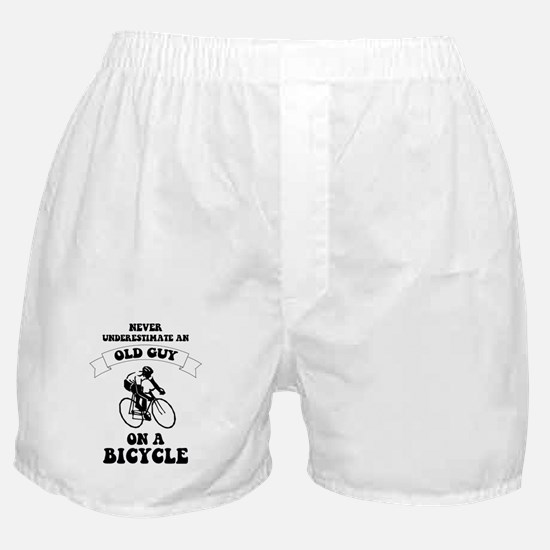 Cute Bicycle Boxer Shorts