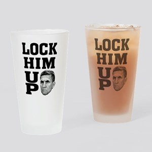 Lock Him Up 3 Drinking Glass