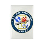 USS Enterprise (CVN 65) Rectangle Magnet (10 pack)