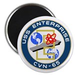 "USS Enterprise (CVN 65) 2.25"" Magnet (100 pack)"