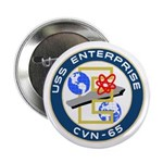 "USS Enterprise (CVN 65) 2.25"" Button (10 pack)"