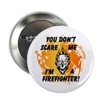 Firefighter Skull and Flames 2.25