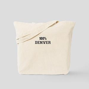 100% DENVER Tote Bag
