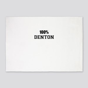 100% DENTON 5'x7'Area Rug
