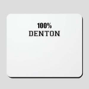 100% DENTON Mousepad