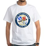 USS Enterprise (CVN 65) White T-Shirt