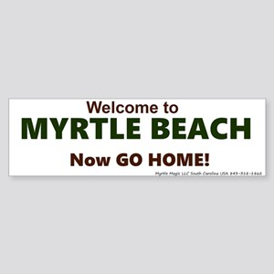 Myrtle Beach (bumper) Bumper Sticker
