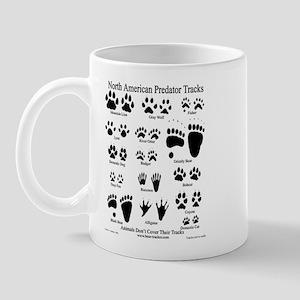 North American Predator Track Mug