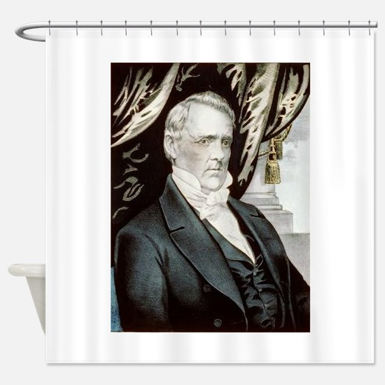 james buchanan Shower Curtain