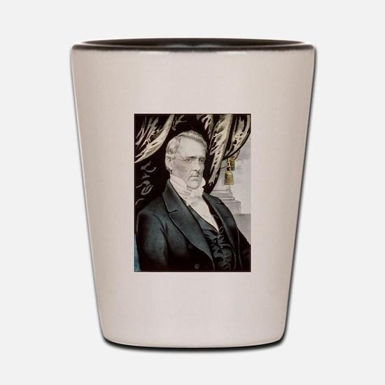 james buchanan Shot Glass