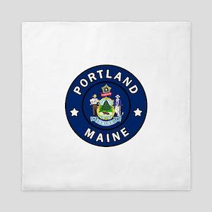 Portland Maine Queen Duvet