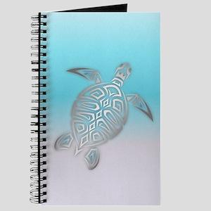 Silver Sea Turtle Beach Style Journal