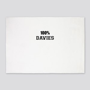 100% DAVIES 5'x7'Area Rug