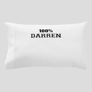 100% DARREN Pillow Case