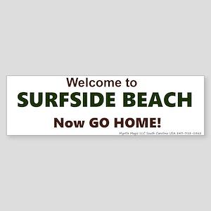 Surfside Beach Sticker (Bumper)