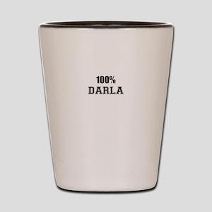 100% DARLA Shot Glass