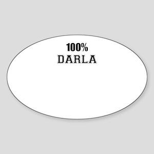 100% DARLA Sticker