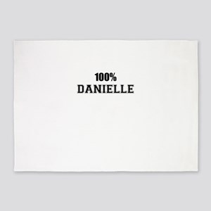 100% DANIELLE 5'x7'Area Rug