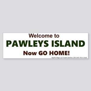 Pawleys Island Sticker (Bumper)