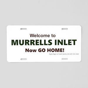 Murrells Inlet Aluminum License Plate